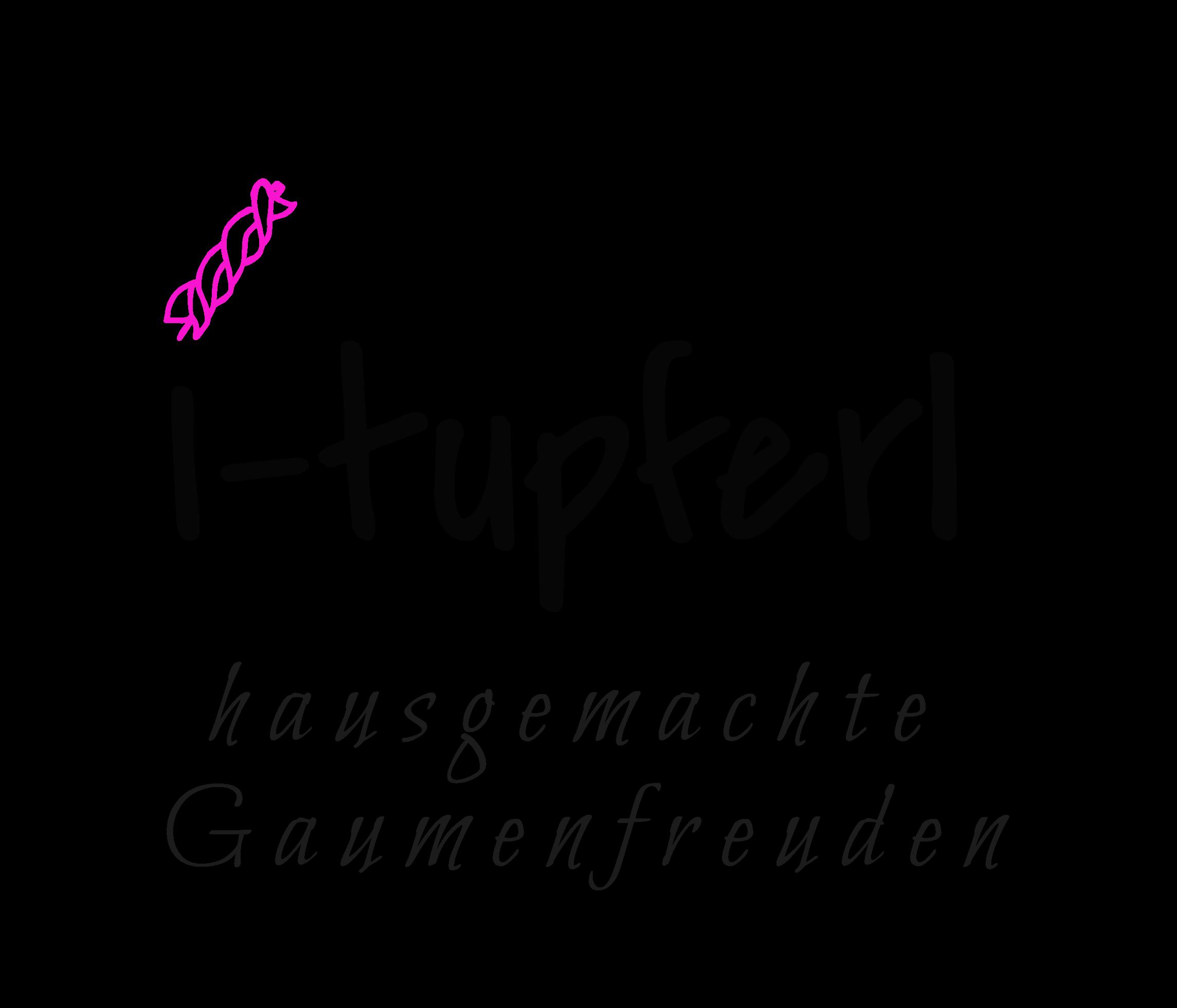 i-tupferl by Caroline Pogoda-Logo